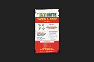 The Ultimate Fertilizer Co 131 18 Lb 22-4-2 Weed & Feed Lawn Fertilizer With Viper, 1 Count
