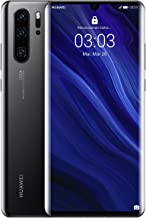 Huawei P30 Pro 8GB+256GB Dual Sim VOG-L29 Stunning 6.47 Inch OLED Display, Android.TM 9.0 Pie, EMUI 9.1.0 Sim-Free Smartphone - International Version/No Warranty (Midnight Black)