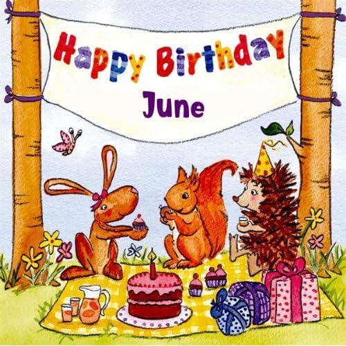 Happy Birthday June by The Birthday Bunch on Amazon Music - Amazon.com