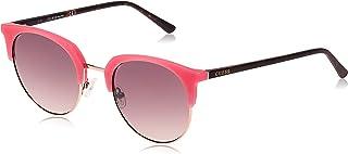 نظارات شمسية للجنسين من جيس GU302673F52 - زهري مات/ بني - مدمجة