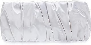iXebella Elegante Abendtaschen aus Satin, plissiert, Clutch, formelle elegante Geldbörsen, für Hochzeit/Abschlussball/Part...