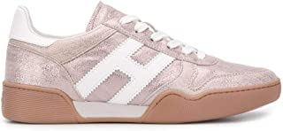 Luxury Fashion | Hogan Women HXW3570AC40N1R0QWW Pink Leather Sneakers | Spring-summer 20