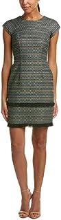 Donna Morgan Women's Fringe Mini Dress