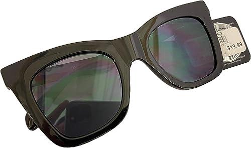 2021 Foster popular Grant new arrival Women's Bedazzled Frame Black Cat Eye Sunglasses online sale