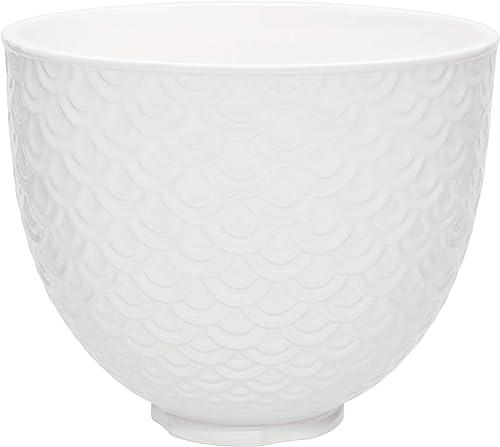 popular KitchenAid Ceramic Bowl outlet sale 5-Quart Mixer- Mermaid online sale Lace White sale