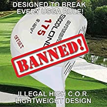 #1 Lightweight 175 Gram Slice Buster Anti-Slice Offset Illegal Non-Conforming Custom Golf Driver Component Head - Compare Callaway Epic Star
