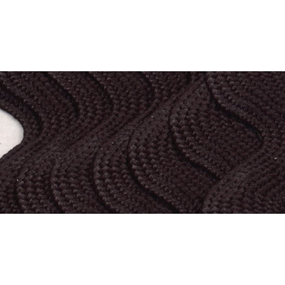 Wrights 117-402-031 Polyester Rick Rack Trim, Black, Jumbo, 2.5-Yard