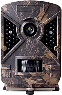 comprar comparacion narrogat Sin Configuración Cámara de Caza 12MP 1080P Cámara de Vigilancia Trail Cámara IP66 Impermeable 24 IR Invisible 1 ...