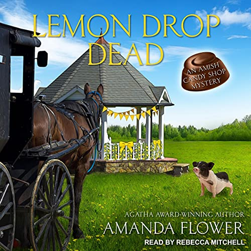 Lemon Drop Dead Audiobook By Amanda Flower cover art
