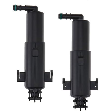 Bapmic 61677179311 Vorne Teleskopdüse Scheinwerfer Reinigung Düse Für 3er E90 E91 E92 E93 Auto