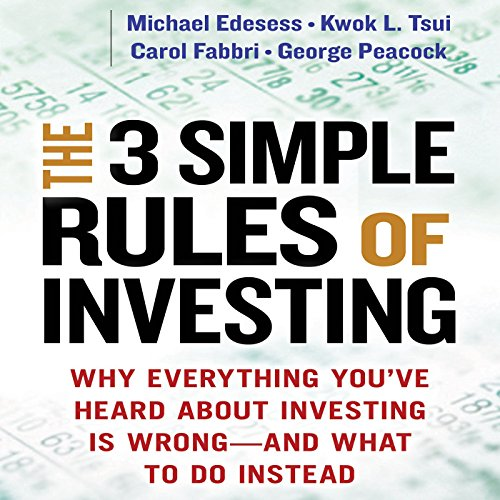 The 3 Simple Rules of Investing audiobook cover art