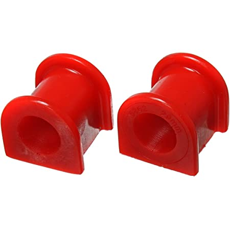 Prothane 19-1162 Red 19 mm Universal Greasable Sway Bar Bushing fits A Style Bracket