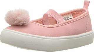 Carter's Girls' Anessa Casual Maryjane Mary Jane Flat, Pink, 8 M US Toddler