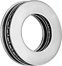 uxcell AXK2035 2AS Needle Roller Thrust Bearings with Bearing Washers, 20mm Bore Diameter, 35mm OD, 4mm Total Thickness
