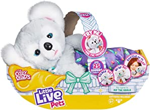 Little Live Pets Cozy Dozy Kip The Koala Bear - Over 25 Sounds and Reactions | Bedtime Buddies, Blanket and Pacifier Inclu...