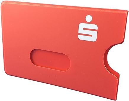 100 x EC-Kartenh�lle rot mit Sparkassen Logo