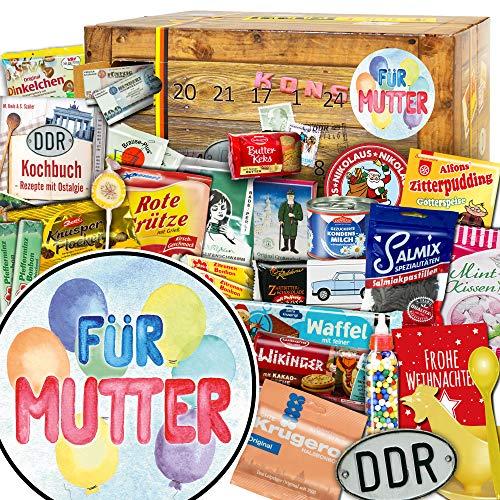 Für Mutter / Adventskalender DDR / Kalender Advent für Mutter / Mutter Geschenkidee
