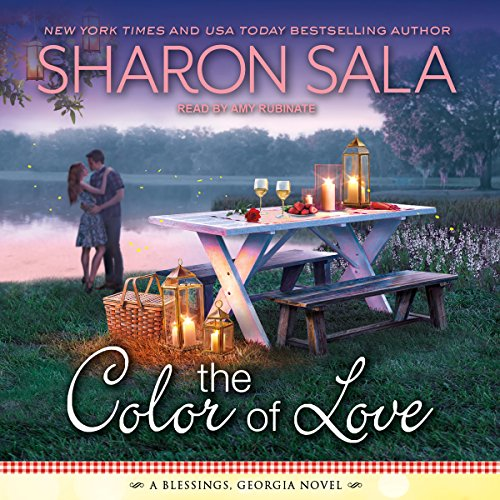 The Color of Love     Blessings, Georgia Series, Book 5              By:                                                                                                                                 Sharon Sala                               Narrated by:                                                                                                                                 Amy Rubinate                      Length: 7 hrs and 40 mins     1 rating     Overall 5.0