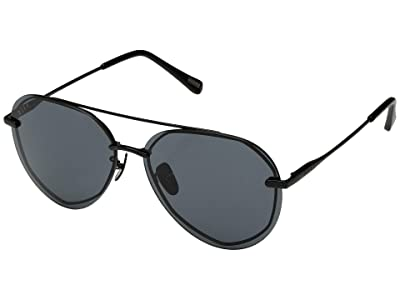 DIFF Eyewear Lenox (Black/Grey) Fashion Sunglasses
