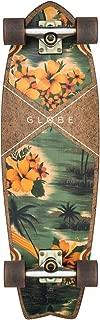 Globe Skateboards Sun City Complete Cruiser Complete Skateboard, Coconut/Hawaiian, 30