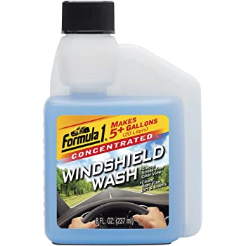 Formula 1 Windshield Wash Concentrate (237 ml) (Made in USA)