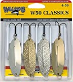Williams W50 Classics 4 Pack Kit of Fishing Lures - 4-50