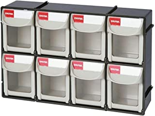Shuter 1010017 Bins Flip Outs 8 Compartment