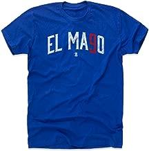 500 LEVEL Javier Baez Shirt - Chicago Baseball Men's Apparel - Javier Baez El Mago Name Number