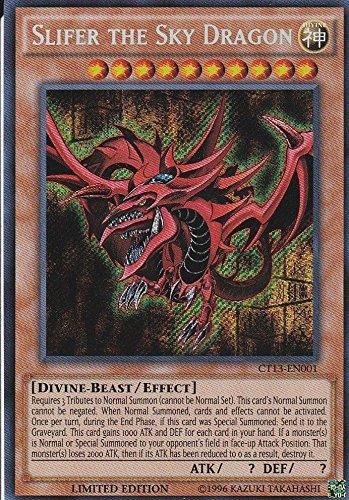 Yugioh Slifer the Sky Dragon - CT13-EN001 - Secret Rare - Limited Edition NM ^G#fbhre-h4 8rdsf-tg1327377