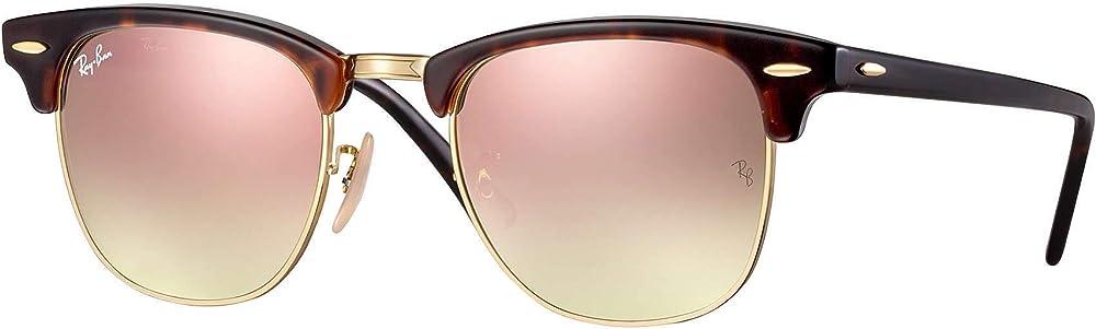 Ray-ban clubmaster ,  occhiali da sole per uomo RB3016