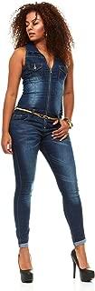 Skinny Jeans for Women Sleeveless Slim Fit Stretch Jumpsuit Romper Junior sizes
