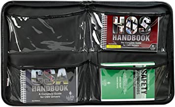CMV Essentials Handbook Kit & Portfolio - Truck Driver Essentials Pack Includes CSA, FMCSR, and Hours of Service Handbooks...