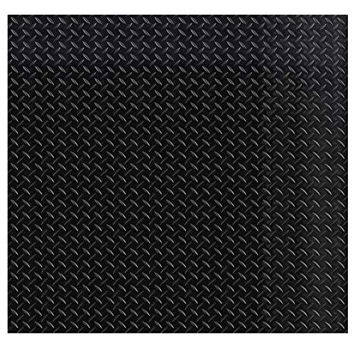 Gummiläufer Tränenblech - 10 Größen wählbar - Materialstärke: 3mm - Breite: 150cm