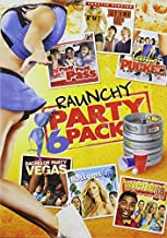 Raunchy Party Pack - 6-Movie Set - Fired Up - Puff, Puff, Pass - National Lampoon's Pucked - Bachelor Party Vegas - Bottoms Up - Wieners