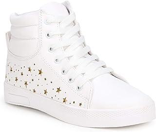 Denill Women Star Laser Cut Ankle Length Shoes