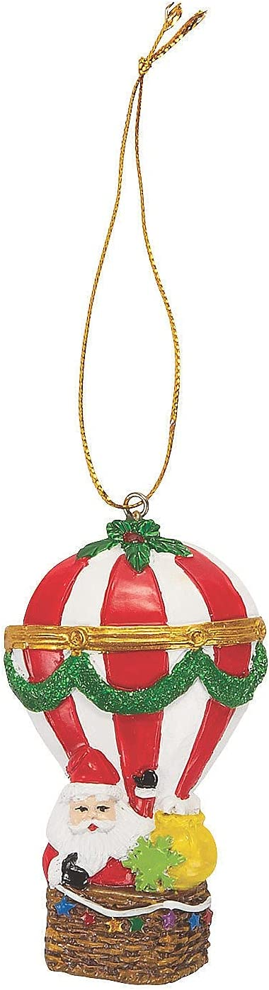 Price reduction Fun 67% OFF of fixed price Express AIR Balloon Xmas Ornament Decor Home 12 - Pieces