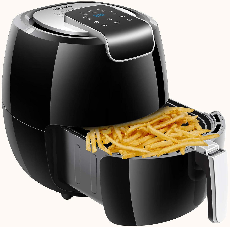 AUKUYEE Air Fryer Oil Less Cooker, 1800W, XL, 5.6QT