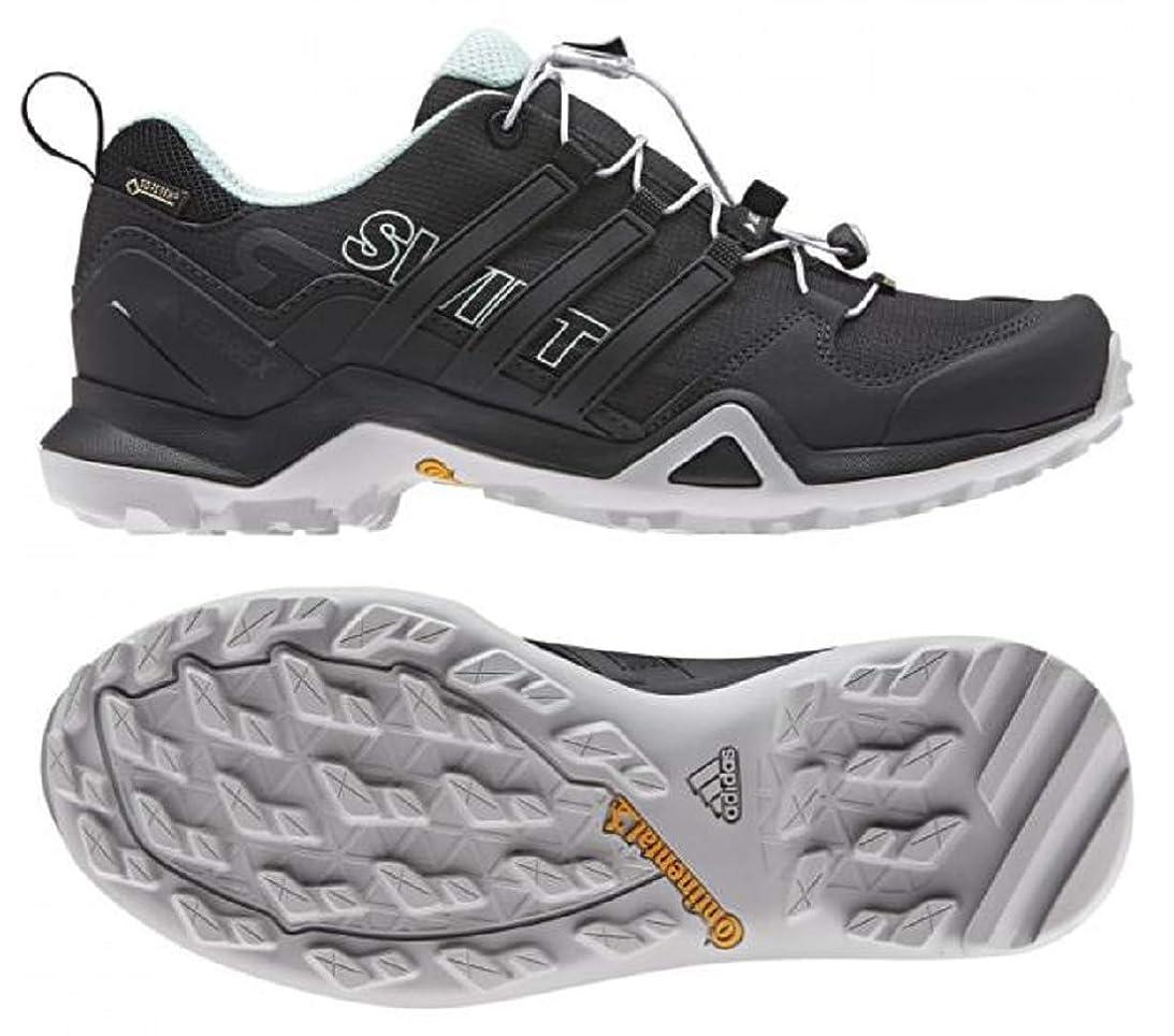 汚染登場くアディダス (adidas) 防水トレッキングシューズ 23.0cm(レディース) TERREX SWIFT R2 スウィフト GTX ゴアテックス 国内正規品 CM7503 コアブラック