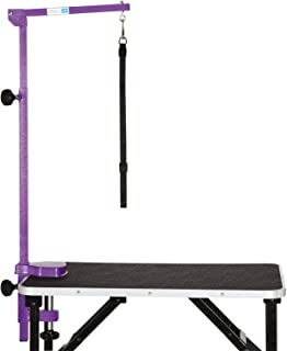 Master Equipment Color Foldable Grooming Arm for Pets, Purple