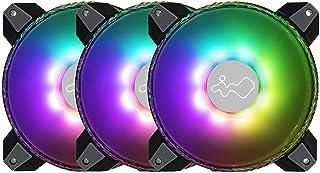 INWIN アドレッサブルRGB 対応 140mm 空冷ファン3個入り ベースモデル Saturn 140 [ FN-ASN140-3PK ]
