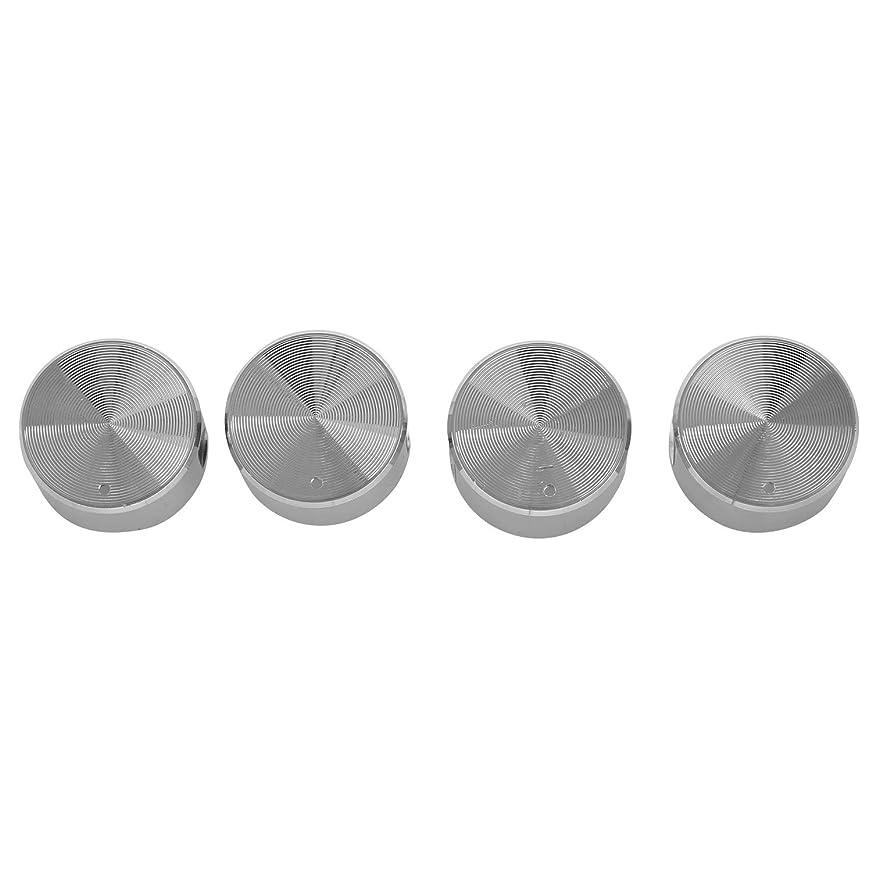 謙虚な質素なアラバマKatigan 4個 ロータリースイッチ ラウンドノブ ガスストーブ バーナー オーブン キッチンパーツハンドル用ガスストーブ