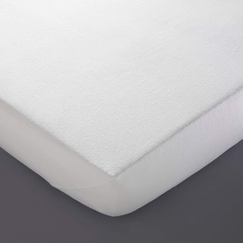 La Redoute Interieurs Flannelette Mattress Predector White King (160 X 200Cm)