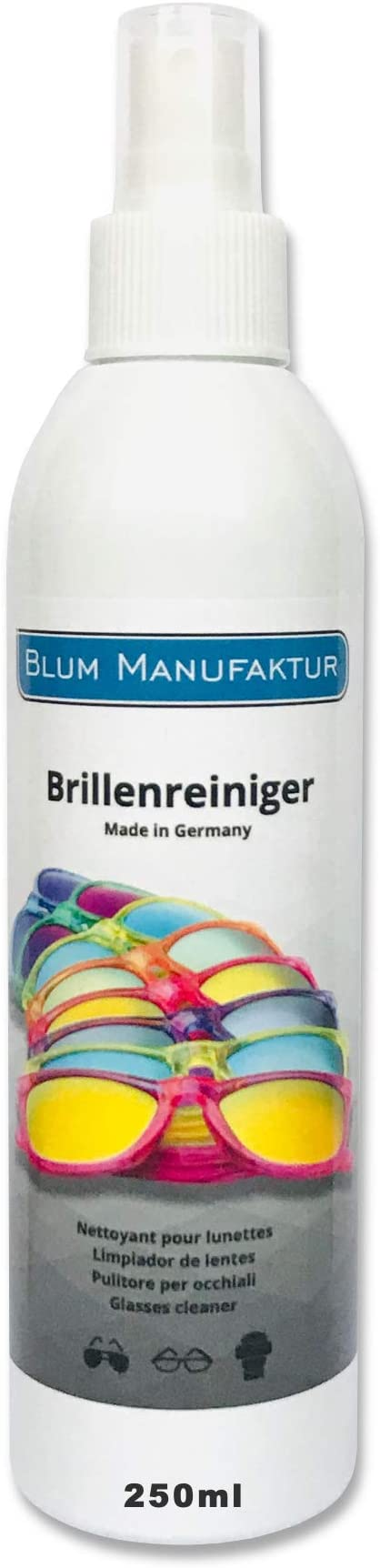 143 opinioni per Blum – 250 ml detergente spray per occhiali – Pulizia senza strisce di tutti gli
