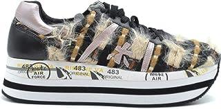 PREMIATA Women's MCBI37947 Multicolor Suede Sneakers