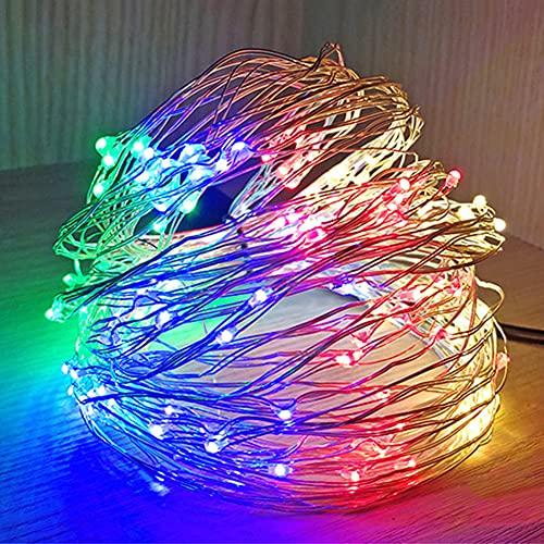 Kidoll String Light, Copper Wire LED Light Battery Powered Decoración romántica para Sala de Estar, Dormitorio, Dormitorio