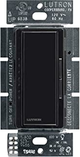 Lutron Maestro C.L Dimmer Switch for Dimmable LED, Halogen & Incandescent Bulbs, Single-Pole or Multi-Location, MACL-153M-BL, Black