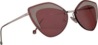 Fendi FF0355/S Sunglasses Red w/Burgundy Lens 66mm C9A4S 0355S FF0355S FF 0355/S