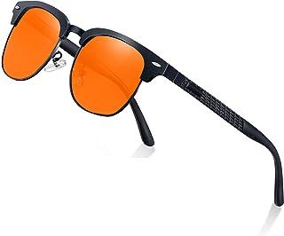 Perfectmiaoxuan Gafas de sol polarizadas Hombre Mujere Retro/Aire libre Deportes Golf Ciclismo Pesca Senderismo 100% prote...