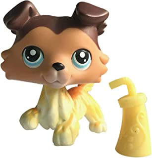lps Cats and Dogs Rare Figures Collection with lps Accessories 1PC Kids' Gift (lps #58)