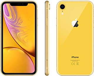 Apple iPhone XR Smartphone, 64 GB Single SIM & E-SIM Yellow